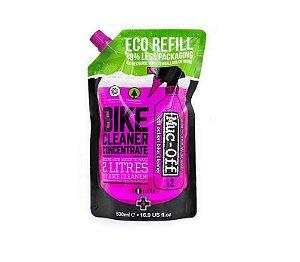 Refil Limpador Muc-Off Shampoo Biodegradavel Nanotech 500ml