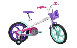 Bicicleta Caloi Ceci aro 16 1V Branca MY20