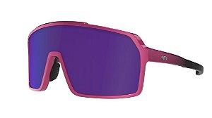 Óculos De Sol Hb Grinder Pink Mirror Blue Chrome
