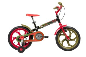Bicicleta Caloi Power Rexaro 16 1V Preto MY20