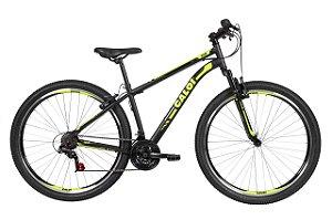 Bicicleta Caloi Velox Aro 29 V-Brake Tam 17 21v Preto