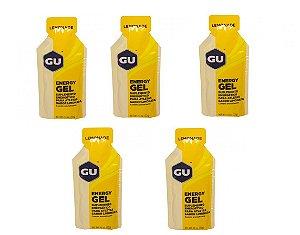 Gel Energético Gu Sports Sache 32g Sabor Limonada 5 unidade