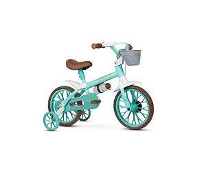 Bicicleta Infantil Nathor Aro 12 Antonella Baby Verde