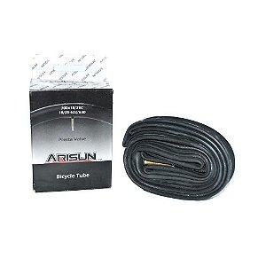 Camara Arisun Road 700x18/25c valvula presta 60mm