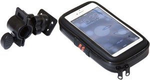 Bolsa Estojo High One Com fixação no guidão para Iphone 4/5