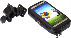 Bolsa Estojo High One Com fixação no guidão para Galaxy S3/S4