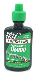 Óleo Lubrificante Finish Line Cross Country Úmido Teflon 60ml
