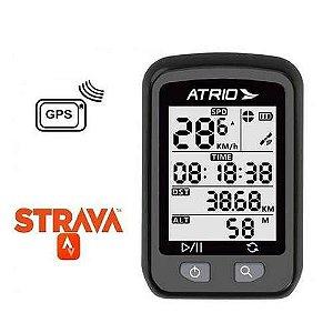Ciclocomputador Atrio Iron de Ciclismo com Receptor de GPS- Compatível Strava