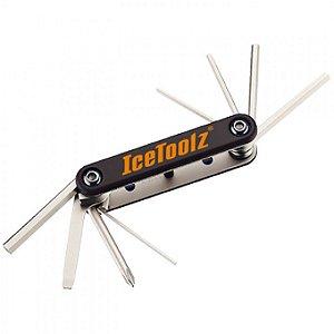 Canivete Multi Ferramenta IceToolz com 9 Funções