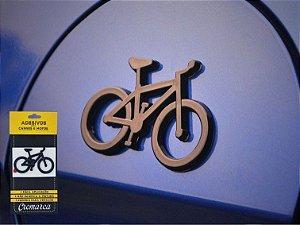 Adesivo para Carro Cromarca Bike Preto