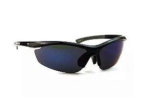 Óculos Esportivo de Sol Shimano S20R Metalico Preto Cinza com 2 lentes