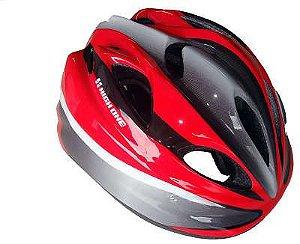 Capacete High One Infantil MV602 Ciclismo MTB Lazer Vermelho