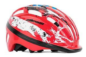 Capacete Elleven Infantil Ciclismo MTB Lazer Vermelho