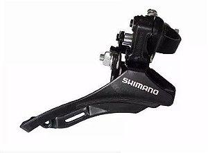 Cambio Dianteiro Shimano TZ31 Top Swing 31,8mm