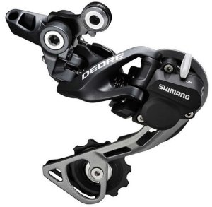 Câmbio Traseiro Shimano Deore RD-M615 Dyna-Sys SGS (Long Cage) Shadow Direct Mount