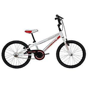 Bicicleta Infantil Tito BMX Aro 20 Roda Aluminio sem Marcha Branca