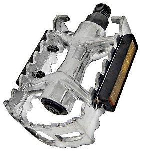 Pedal Aluminio Fp961 RG 9/16 rosca grossa Polido