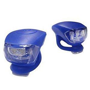 Kit de Iluminação de Silicone JY-267-6 2 Leds Azul
