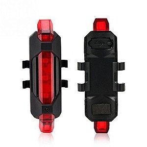 Lanterna Traseira Rapido X Recarregavel USB
