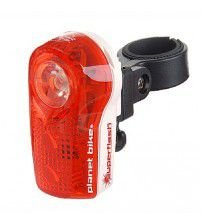 Lanterna Traseira Planet Bike SuperFlash 3Leds