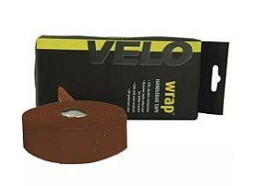 Fita de Guidão Velo Wrap VLT-001SG Speed Road EVA com Gel Tape Marrom