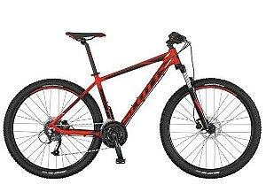 Bicicleta Scott Aspect 950 MTB 29er Shimano 24Vel Disco Hidraulico Vermelho Preto 2017