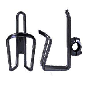Suporte de Caramanhola (Garrafinha) HC-31 Com Abraçadeira para Guidão Para Bicicletas que não tem Furação