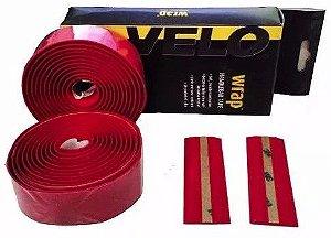 Fita de Guidão Velo Wrap VLT-001SG Speed Road EVA Vermelho