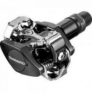 Pedal Shimano PD-M505 Clipless SPD de Encaixe Preto