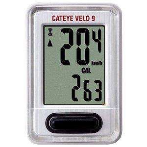 Ciclocomputador Cateye Velo 9 CC-VL820 Bracno