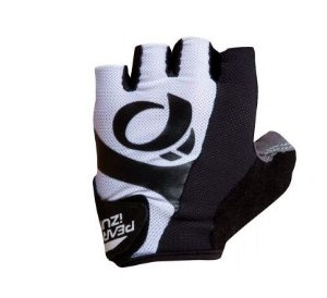 Luva Pearl Izumi Select de Ciclismo Unissex MTB Speed Lazer Dedo Curto Preto Branco