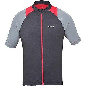 Camisa Curtlo Sprinter II MC de Ciclismo Masculina Manga Curta Preto