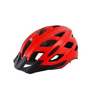Capacete Atrio 2 Leds Ciclismo MTB Lazer Vermelho
