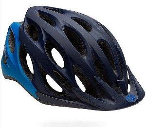Capacete Bell Traverse De Ciclismo Mtb Lazer Urbano Azul Fosco