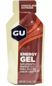 Gel Energético Gu Sports Sache 32g Sabor Chocolate Belga