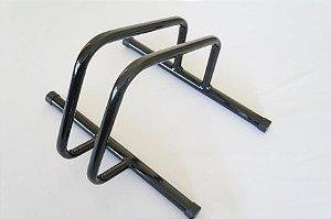 Suporte de Chão Expositor de  Bicicleta Modelo Casinha