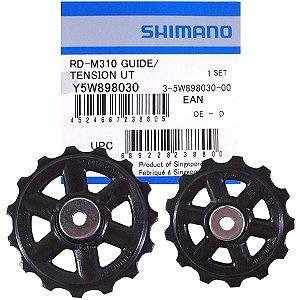Roldana de Câmbio Traseiro Shimano Altus RD-M310 (Par)