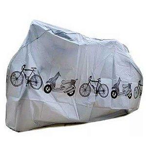 "Capa para Bicicleta HB-E-003 MTB Speed aro 26"" até aro 29"" Cinza"