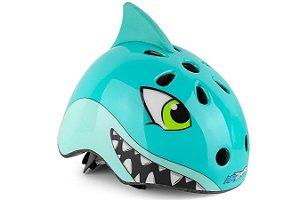 Capacete KidZamo Tubarão KZ 190 S 216 Infantil Ciclismo MTB Lazer