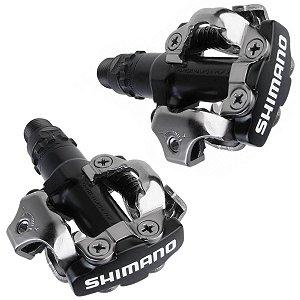 Pedal Shimano PD-M520 Clipless SPD de Encaixe Preto