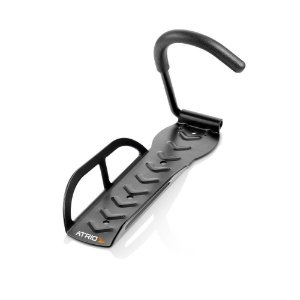 Suporte de Parede Atrio BI054 Com Base para Roda Dianteira Vertical para 1 Bicicletas
