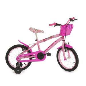 Bicicleta Infantil Rharu Aro 16 Roda Aluminio Rosa KAT