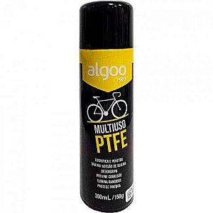 Óleo Lubrificante Algoo Multiuso PTFE Teflon para Bicicletas Spay 300ml