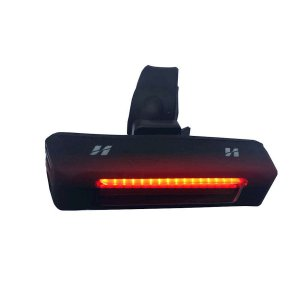 Lanterna Traseira High One 4 Funções Recarregavel USB Braçadeira de Borracha