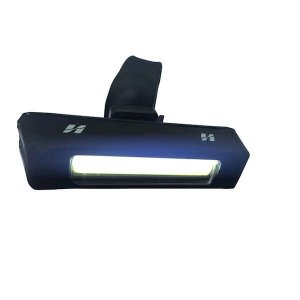 Farol Dianteiro High One 4 Funções Recarregavel USB Braçadeira de Borracha