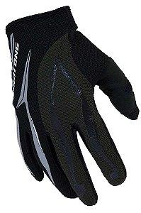 Luva High One Skull de Ciclismo Unissex MTB Speed Lazer Dedo Longo Preto Cinza Escuro