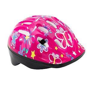 Capacete Blezer Infantil Ciclismo MTB Lazer Rosa
