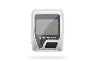 Ciclocomputador Union Wireless 9 Funções 7CC-9WN Sem Fio Cinza