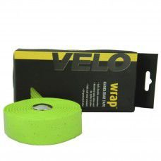 Fita de Guidão Velo Wrap VLT-001SG EVA com Gel Tape Verde Speed Road