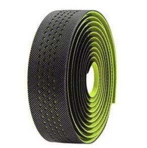 Fita de Guidão Velo Wrap VLT 3079 em Gel Preto Verde Speed Road